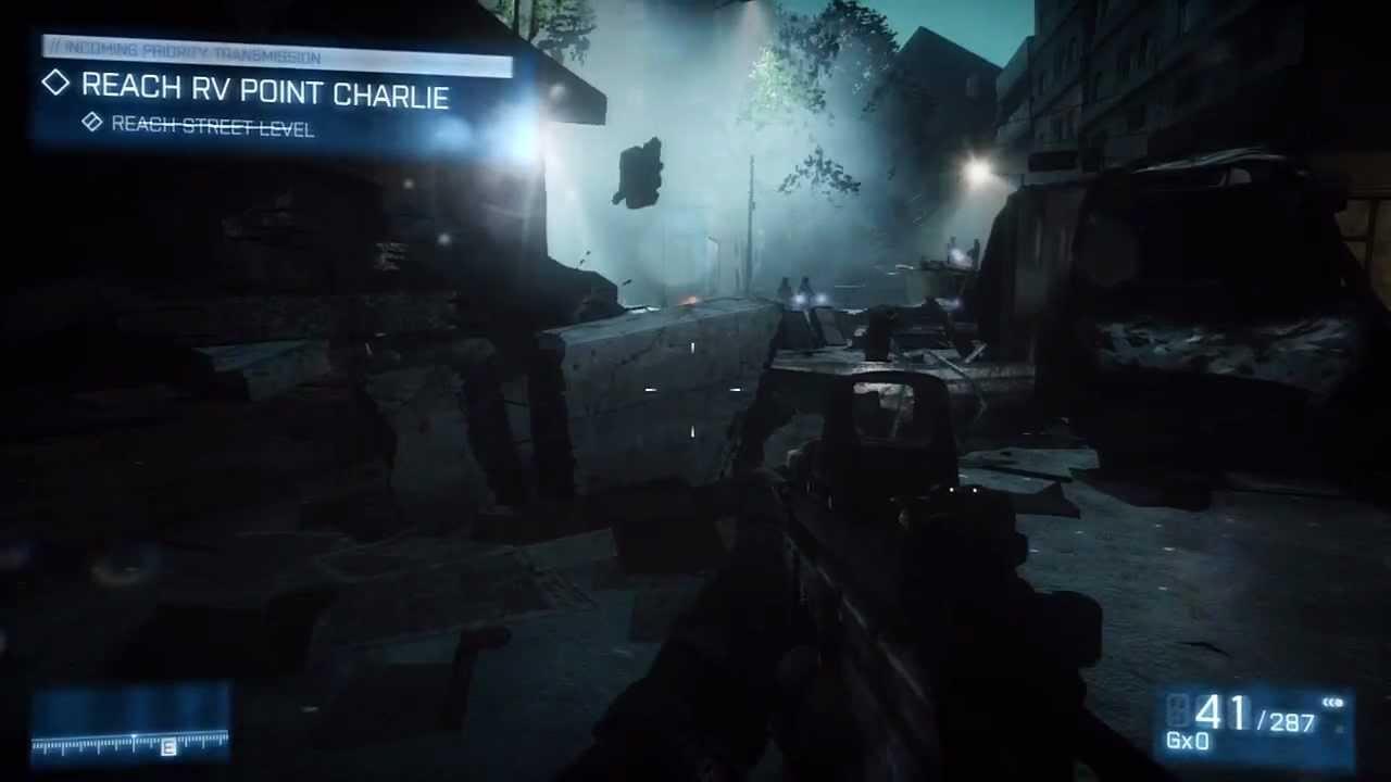 Battlefield  Walkthrough Part  Night Shift Bf Ps Pc Youtube