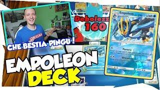BLOCCARE i BASE e DISTRUGGERE LA PANCHINA| EMPOLEON DECK ECLISSI COSMICA| Pokemon TCGO ITA