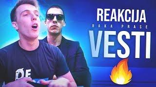 *reakcija* BAKAPRASE - VESTI (Official Video)