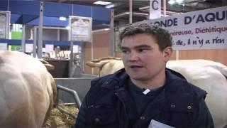 Mr Bracot, éleveur  dans les Pyrénées Atlantiques (64) interviewé au Salon de l'Agriculture...