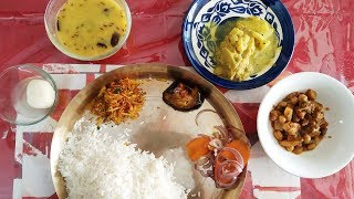 Eating Massive Delicious  Veg Meal | Eating Indian Food | Messy Eating |