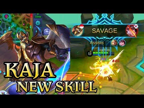 Kaja New Skill Gameplay - Mobile Legends Bang Bang thumbnail