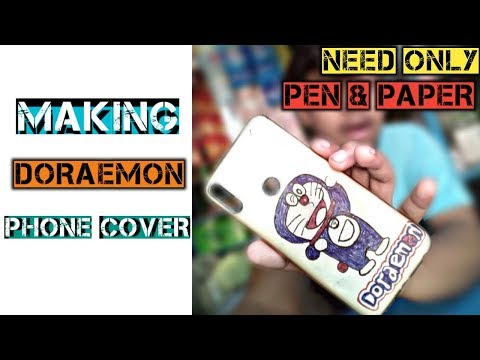MAKING COOL DIY PHONE CASE | NEED ONLY PEN & PAPER