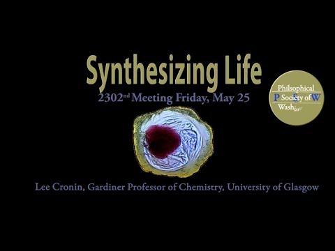 PSW 2302 Synthesizing Life | Lee Cronin