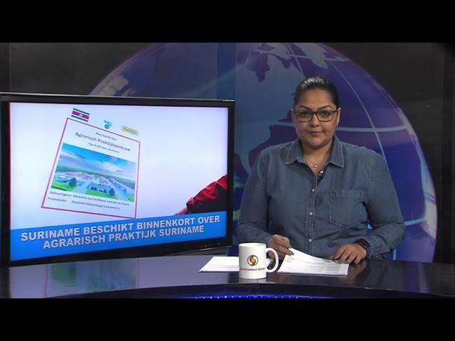 Suriname beschikt binnenkort over Agrarisch Praktijk Centrum STVS JOURNAAL 14 mei 2021