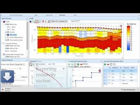 Inversion of airborne EM data in the free web app TDEM Geomodel
