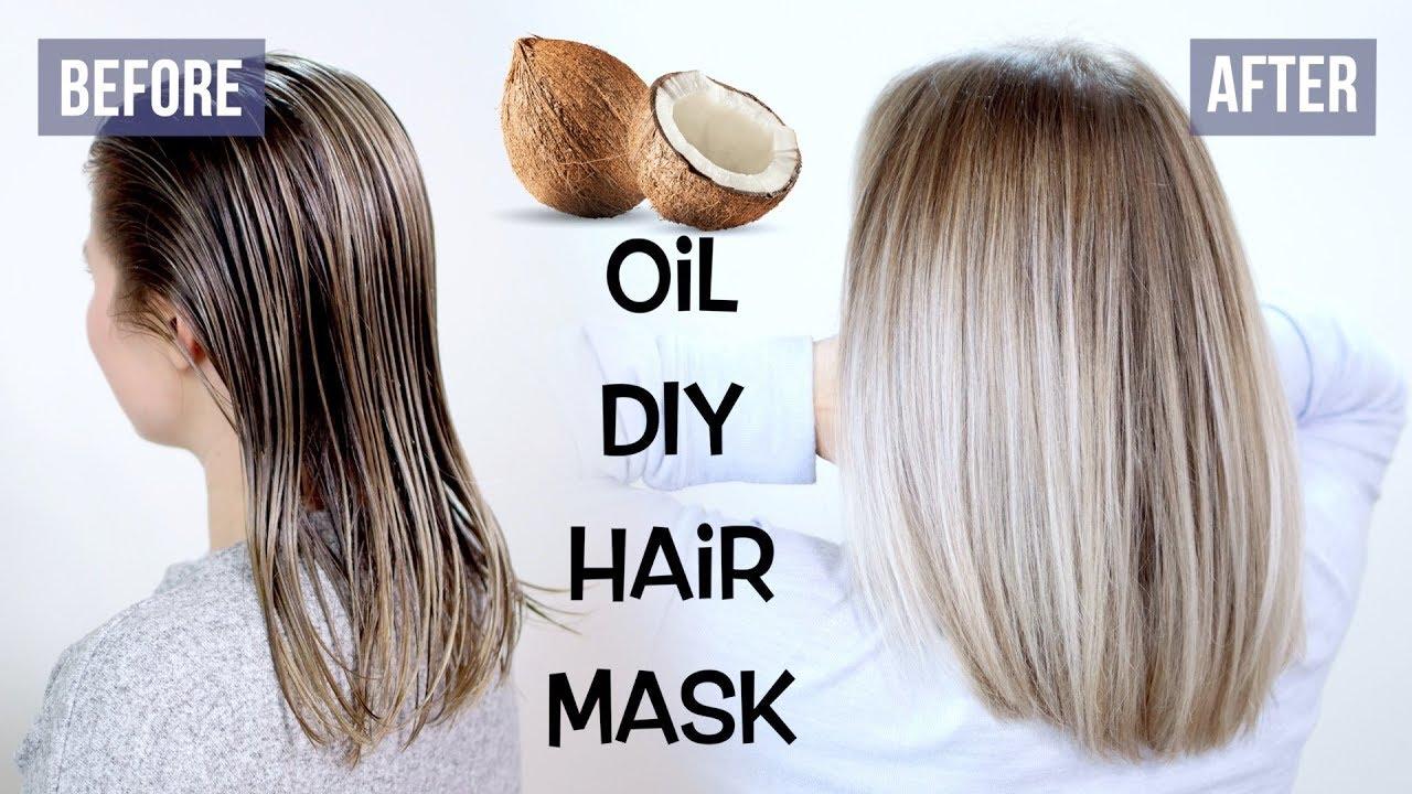 Image result for hair mask for damaged hair and split ends diy