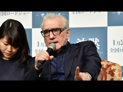 Martin Scorsese SILENCE Press Conference in Japan! マーティン・スコセッシ監督来日! 「沈黙-サイレンス-」映画化に至るまでの苦労を激白