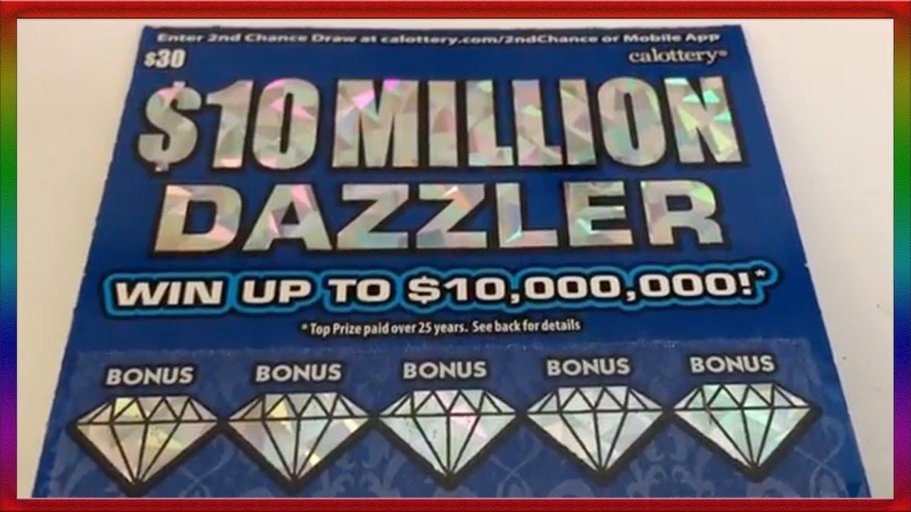 ** 10 Million Dazzler (30 dollar ticket) ** SL's SCRATCHERS CHANNEL **