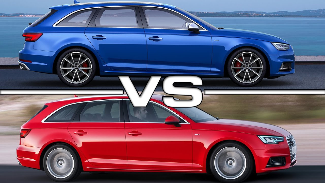 audi s4 avant vs audi a4 avant road test youtube. Black Bedroom Furniture Sets. Home Design Ideas