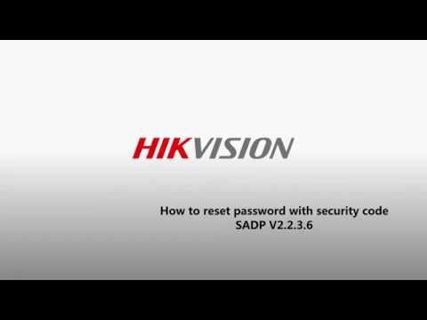 Cómo resetear clave de equipos Hikvision usando código de seguridad