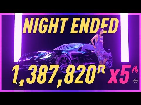 NFS HEAT 1,38 MIL REP NIGHT! (RAW GAMEPLAY WITH TIMESTAMPS)