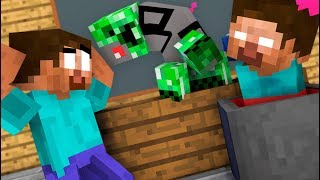 MONSTER SCHOOL : BREWING CREEPER CHALLENGE - Minecraft Animation