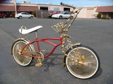 Lowrider Bikes - Lexus Style