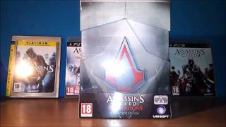 Assassin's Creed: Revelations Collector Edition Unboxing (PS3) [HD 720p]