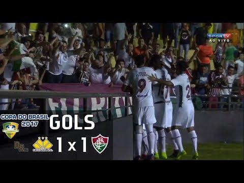 Gols - Criciúma 1 x 1 Fluminense - Copa do Brasil 2017