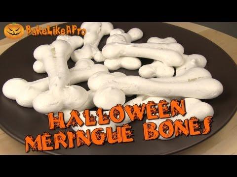 Halloween Meringue Bones Recipe