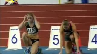 60м с/б Женщины Финал - Чемпионат Украины 2015 Сумы
