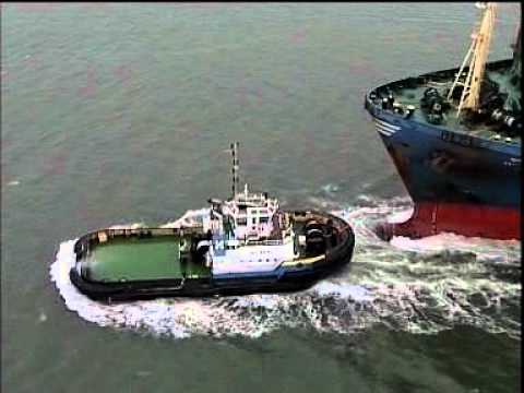 ASD Tug Video from DAMEN Shipyard