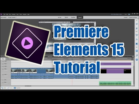 Premiere Elements 15 Tutorial - Slow Motion Video