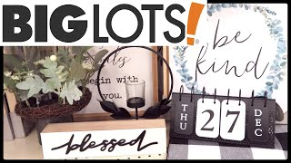 Big Lots NEW Farmhouse Decor 2019!