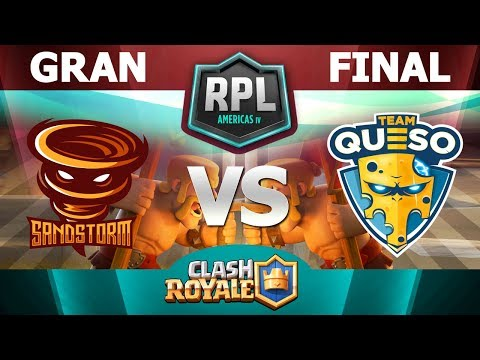 FINAL DE LA RPL DE AMÉRICA | Team Queso vs Sandstorm con ARIEL BALOR