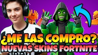 NEW SKINS *FORTNITE MESMERISM AND SOLAR AVE DO YOU DESERVE THE PENA TO BUY THEM?
