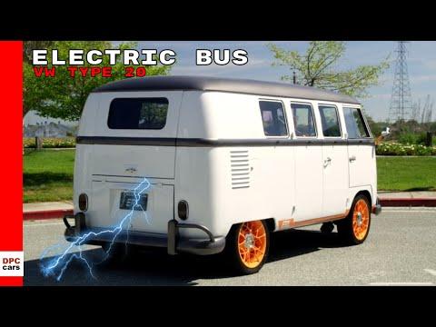 VW Type 20 Concept Electric Bus - Volkswagen