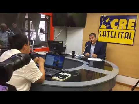 RAFAEL CORREA VUELVE A ECUADOR -ENTREVISTA EN RADIO CRE SATELITAL GUAYAQUIL 27 NOV 2017