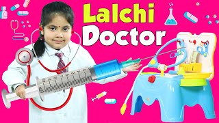 Kids PRETEND Play DOCTOR SET | Moral Story | ToyStars