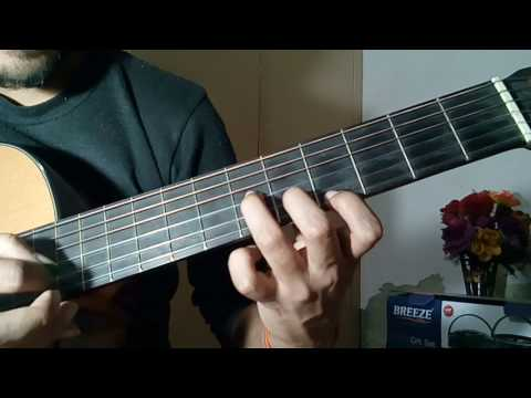 AADAT NA JAANE KAB SE GUITAR LESSON (correct intro) || JAL THE BAND || CHORDS, RYTHM AND SOLO