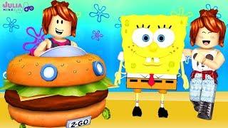Roblox - AVENTURA COM O BOB ESPONJA (Spongebob Movie Adventure Obby)