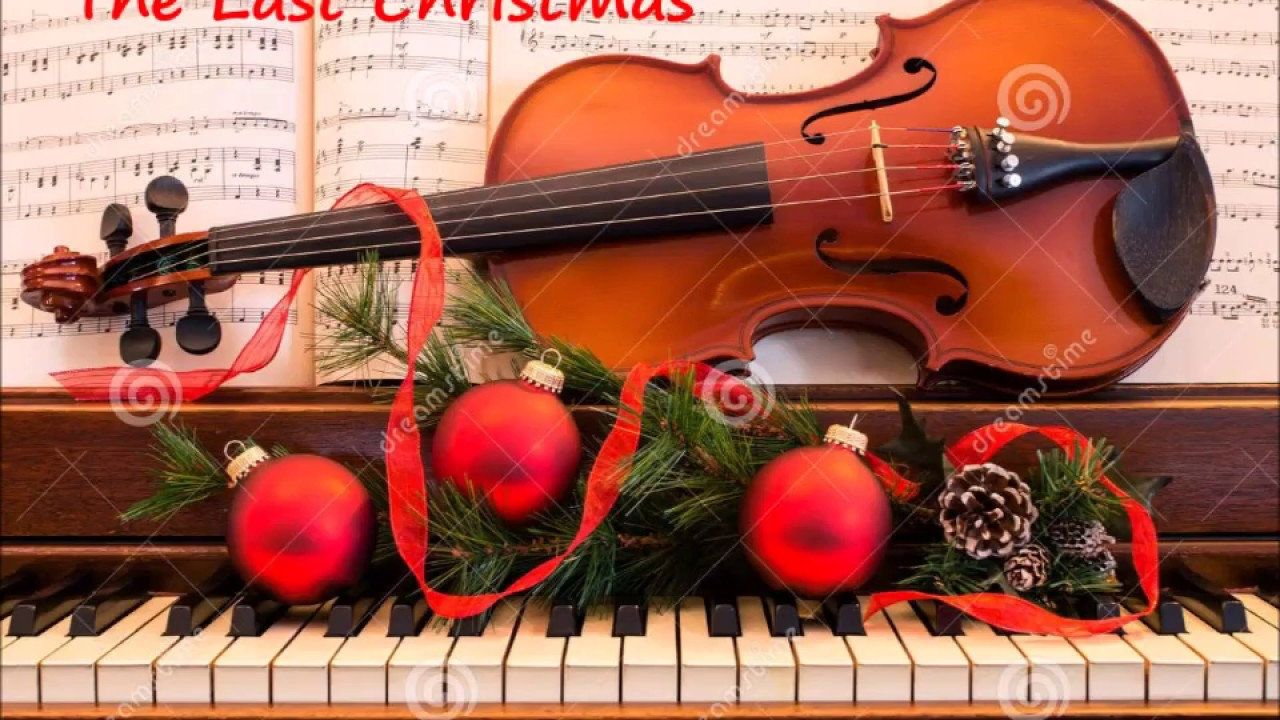 Christmas Violin.Christmas Violin Last Christmas 1984 By George Michael Wham Violin And Piano