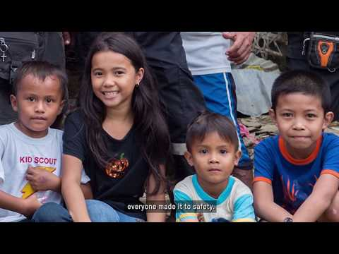 Typhoon in the Philippines: the power of local people to save lives