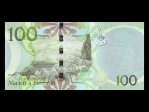 All Lesotho Loti Banknotes - 1981 to 2010 in HD