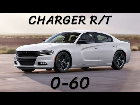 2017 Dodge Charger R/T Hemi - 0-60 MPH Time