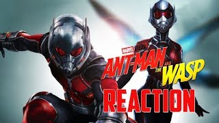REACTION Ant-Man and the Wasp