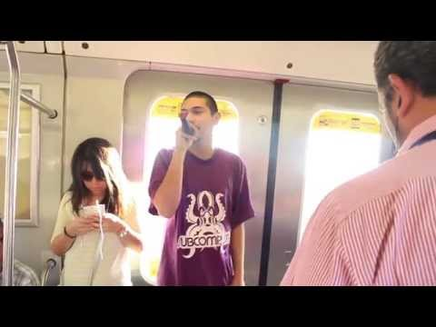 Stigma Metro de Santiago   Arte de Vagón