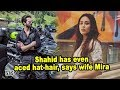 Shahid has even aced hat-hair, says wife Mira