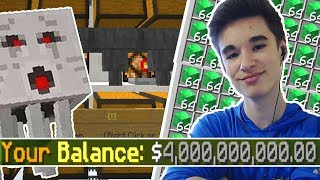 THIS SECRET GHAST FARM MAKES $4,000,000,000 IN 1 DAY!   Minecraft Skyblock (PvpWars)