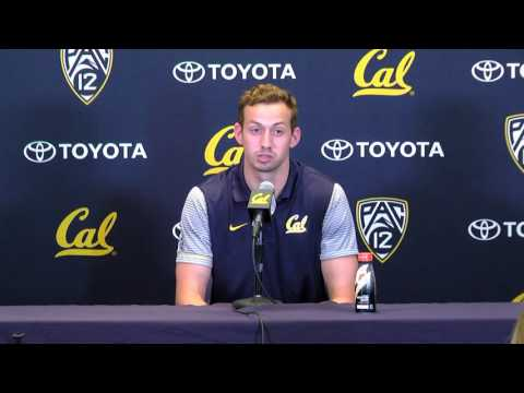Cal Football: Davis Webb Press Conference (9/27/16)