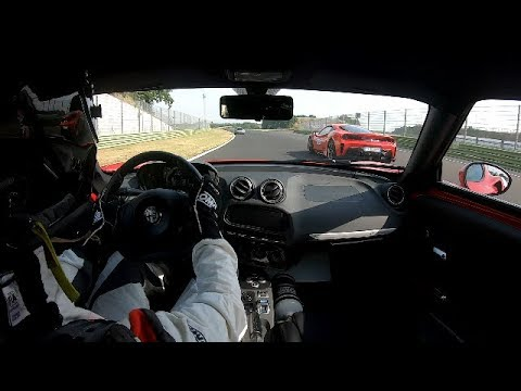 GMS - Alfa Romeo 4C - Time Attack Italia - 07.07.2019 Vallelunga - 4C vs. C06 vs. 488 vs. GT3RS