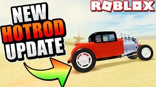 Epic New Hot-Rod in Vehicle Simulator! *NEW UPDATE!* (Roblox)