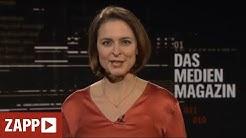ZAPP - Der Blick hinter die Kulissen der Medienwelt