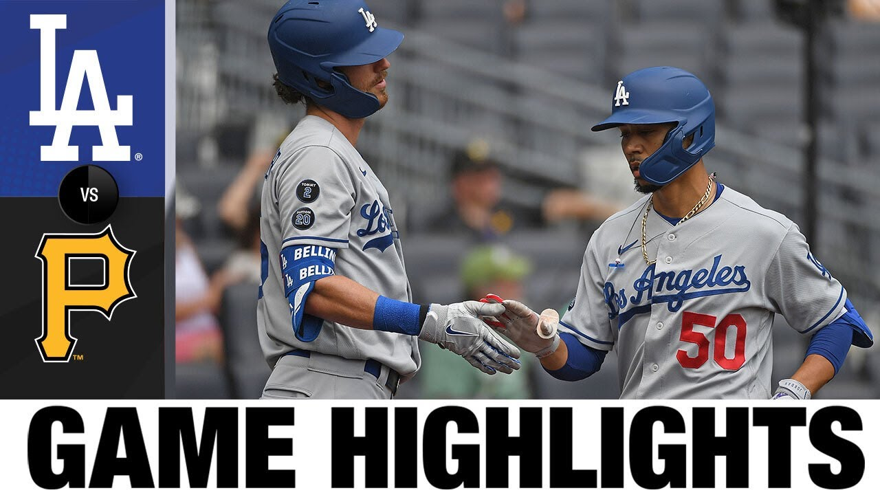 Download Dodgers vs. Pirates Game Highlights (6/10/21) | MLB Highlight