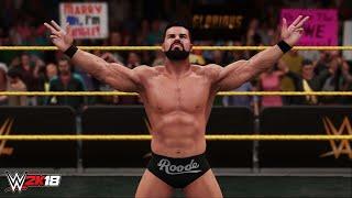 WWE 2K18: Bobby Roode Entrance Video