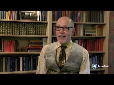 John Champagne Penn State Laureate Promotional Video