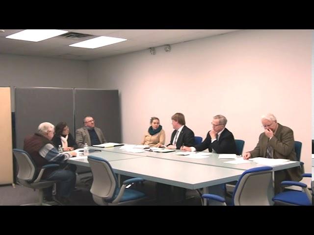 Town of Plattsburgh Meeting  1-25-18