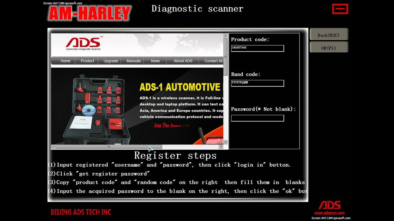 harley davidson motorcycle diagnostic scanner user video ads5602