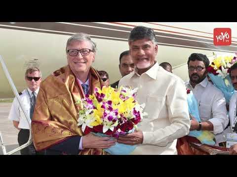 Bill Gates To Help Chandra Babu Naidu? | Andhra Pradesh | YOYO Times
